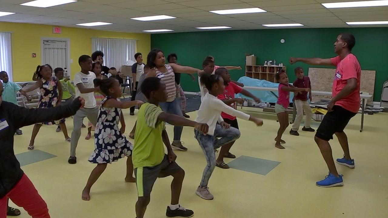 Kids drama and dance camp