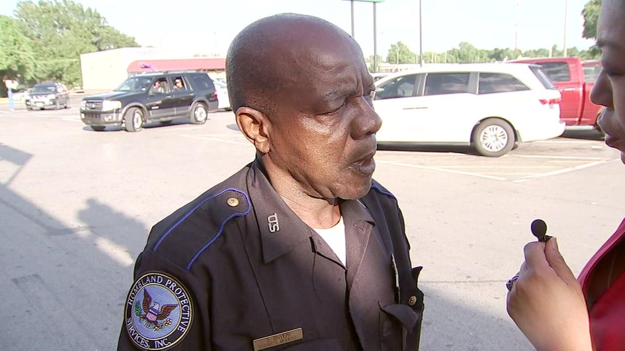 Guard who allegedly fired gun during road rage argument speaks out