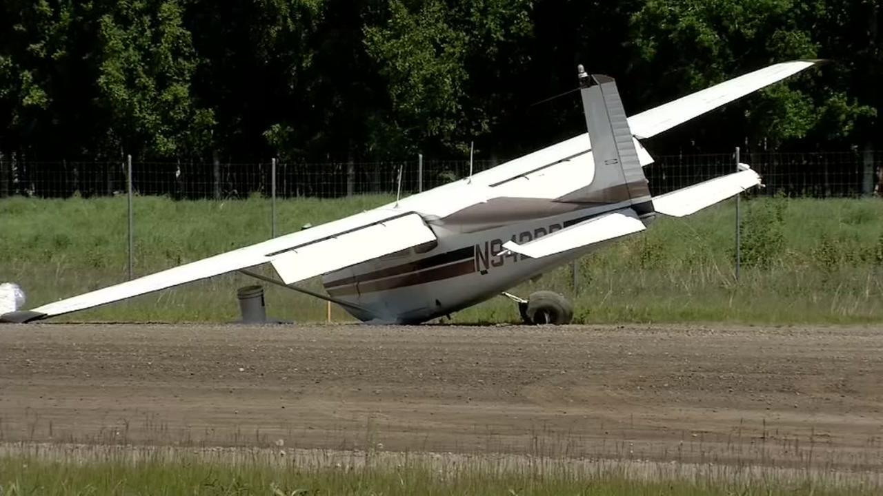 Fatal plane midair collision