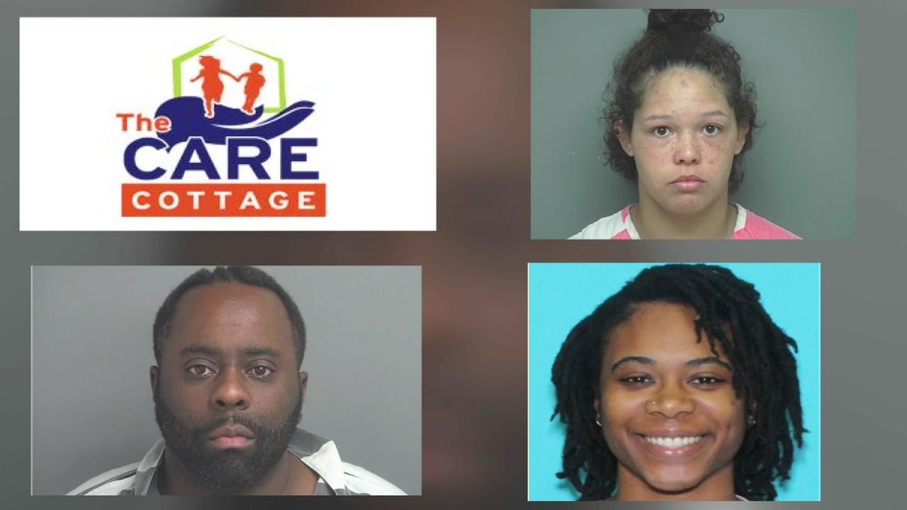 Three people with abuse at child foster care facility