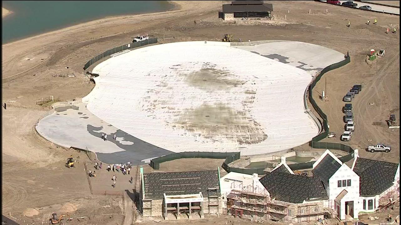 Texas first crystal clear lagoon nears completion in Humble