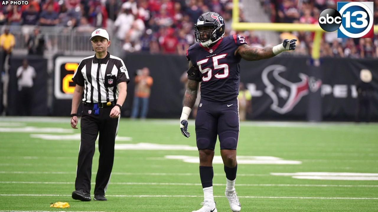 Texans extend ILB McKinney
