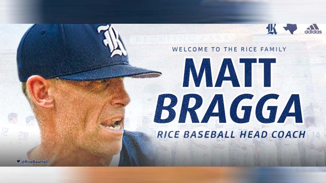 Rice names new baseball coach