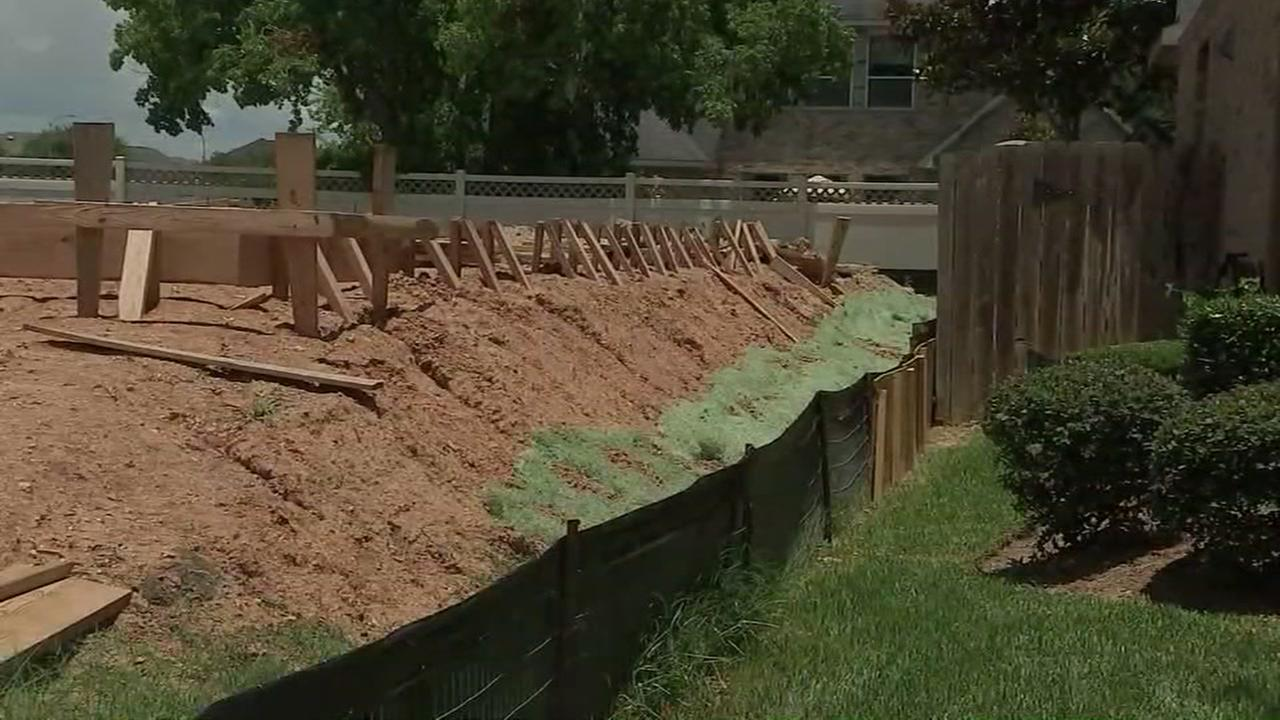 Flood concerns in Richmond subdivision
