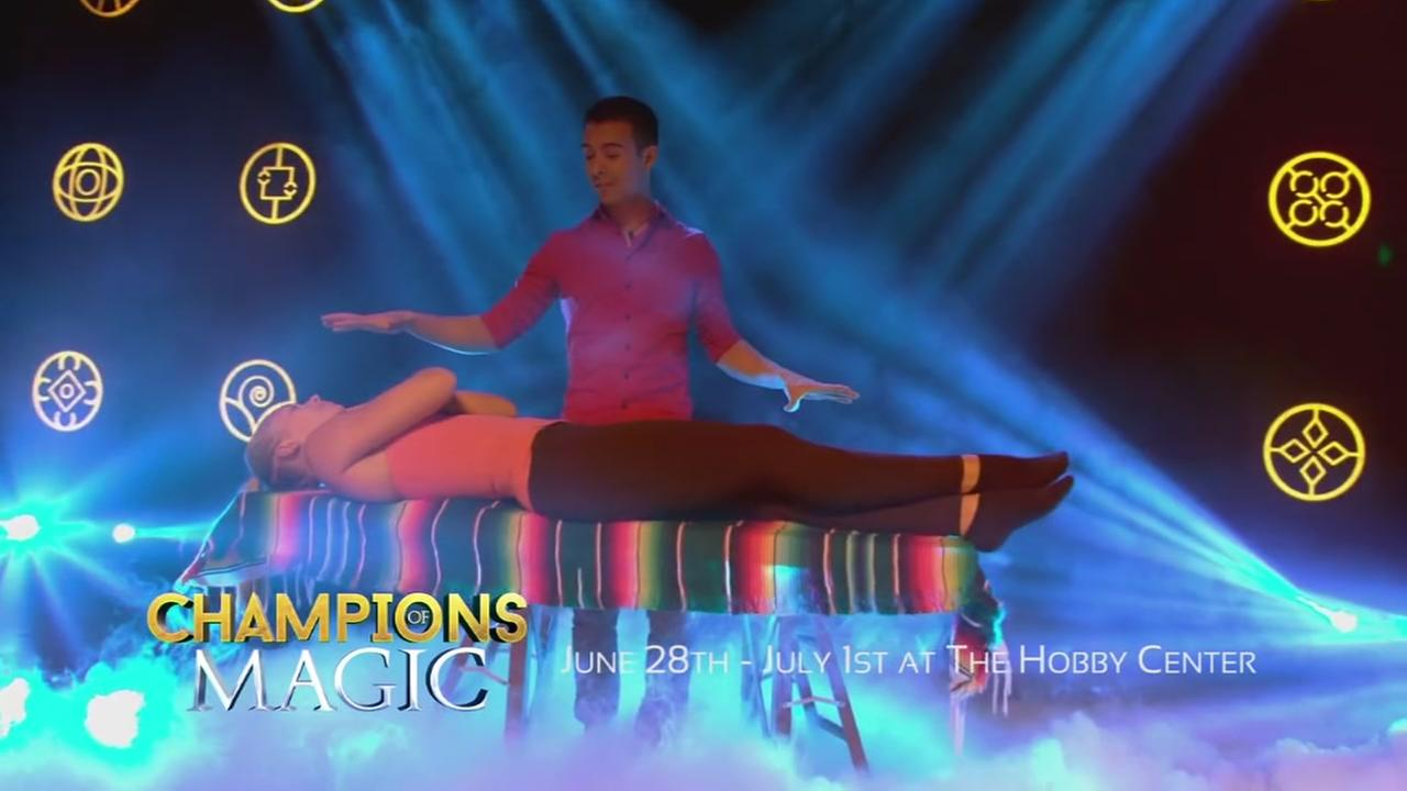 Champions of Magic coming to the Hobby Center