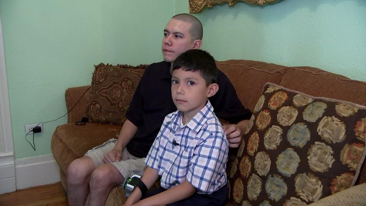 Houston Father says his 7-year-old son saved his life