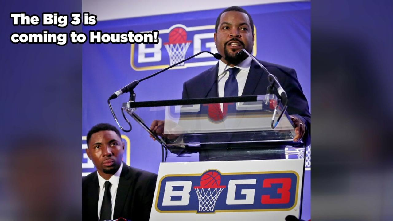 Big 3 basketball coming to Houston