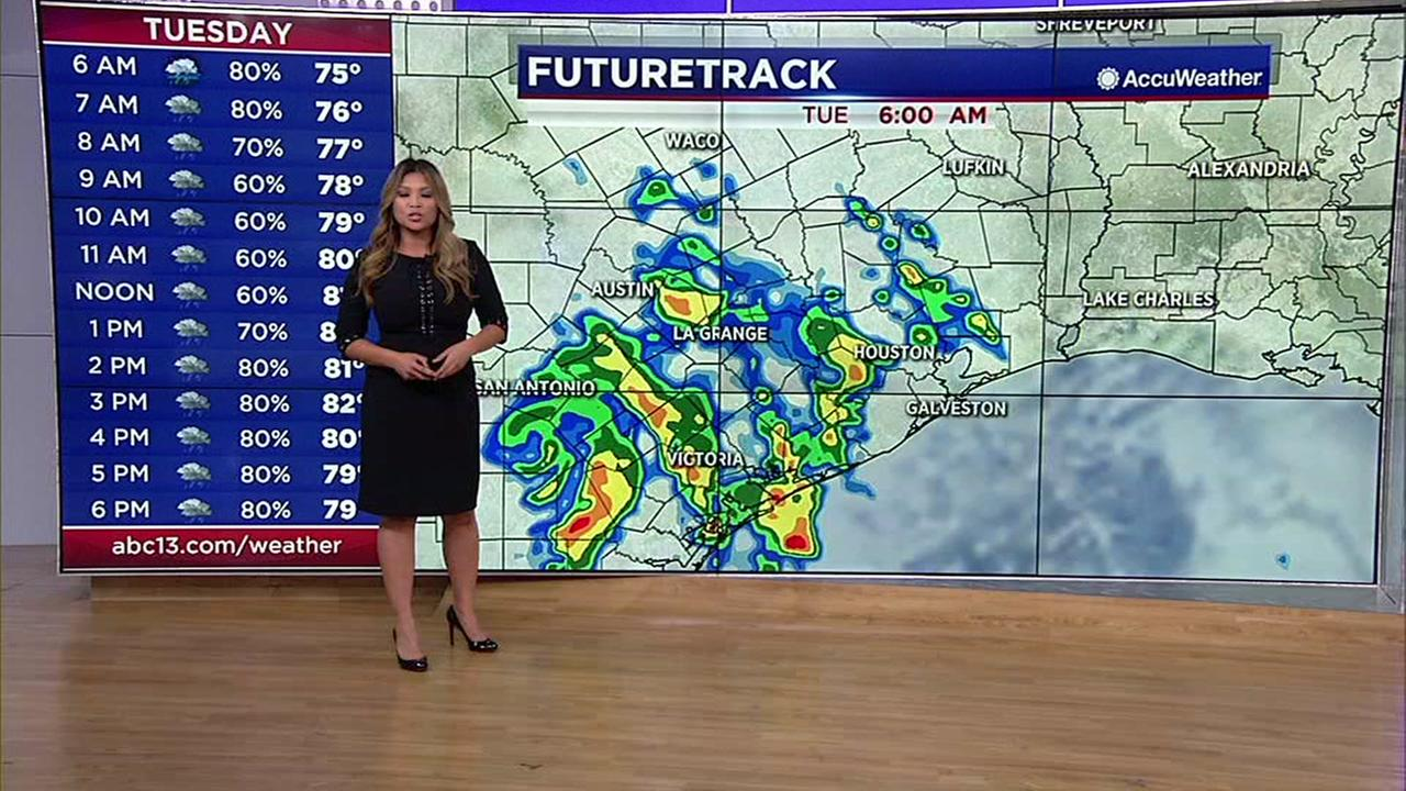 Elita Lorescas weather forecast