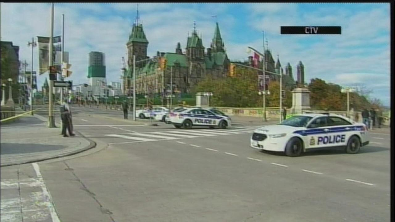 Two dead in shooting attack at Canadas Parliament