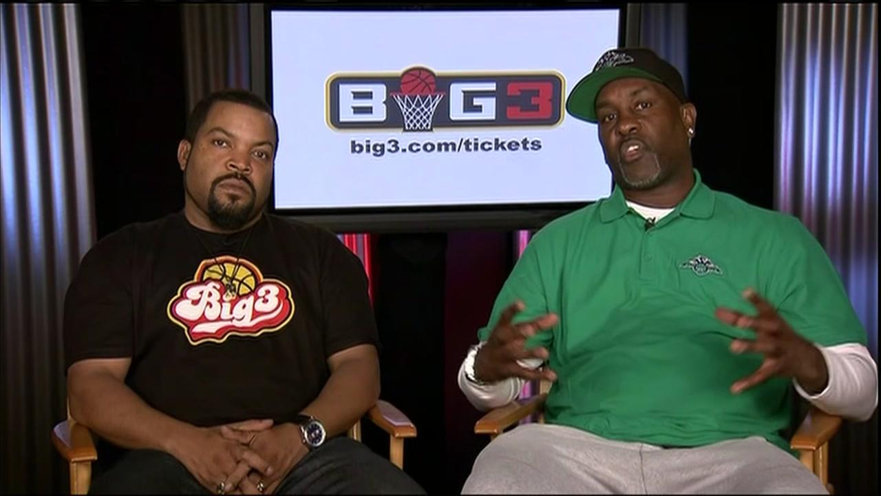Big3 basketball league opening season in Houston