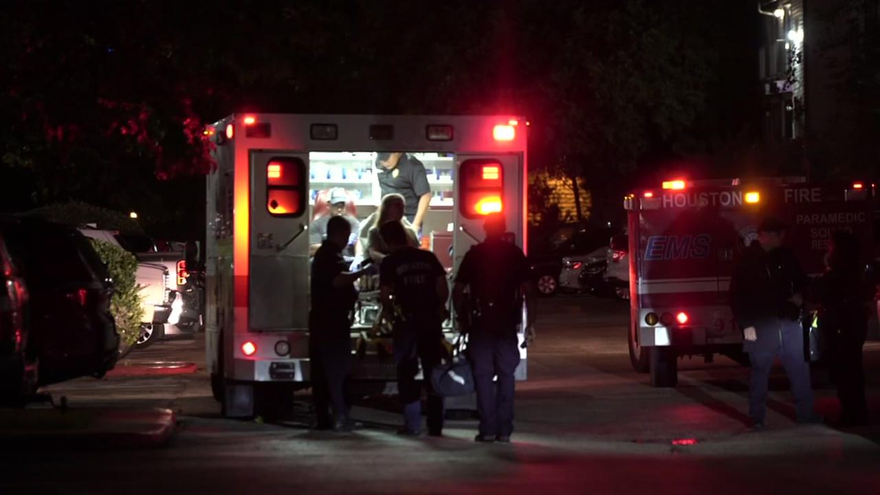 Woman hospitalized after being stabbed in the face on Houstons southside