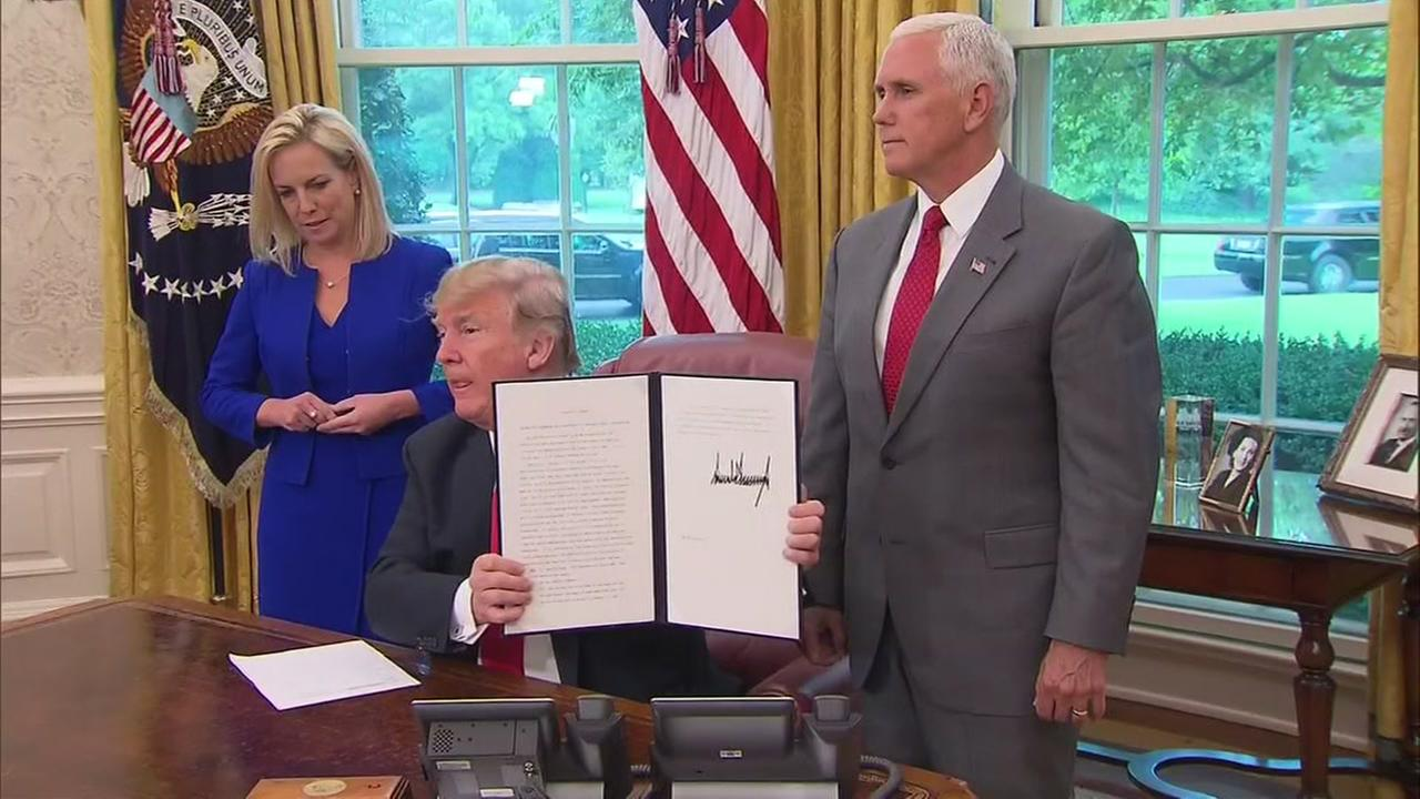 Trump signs executive order
