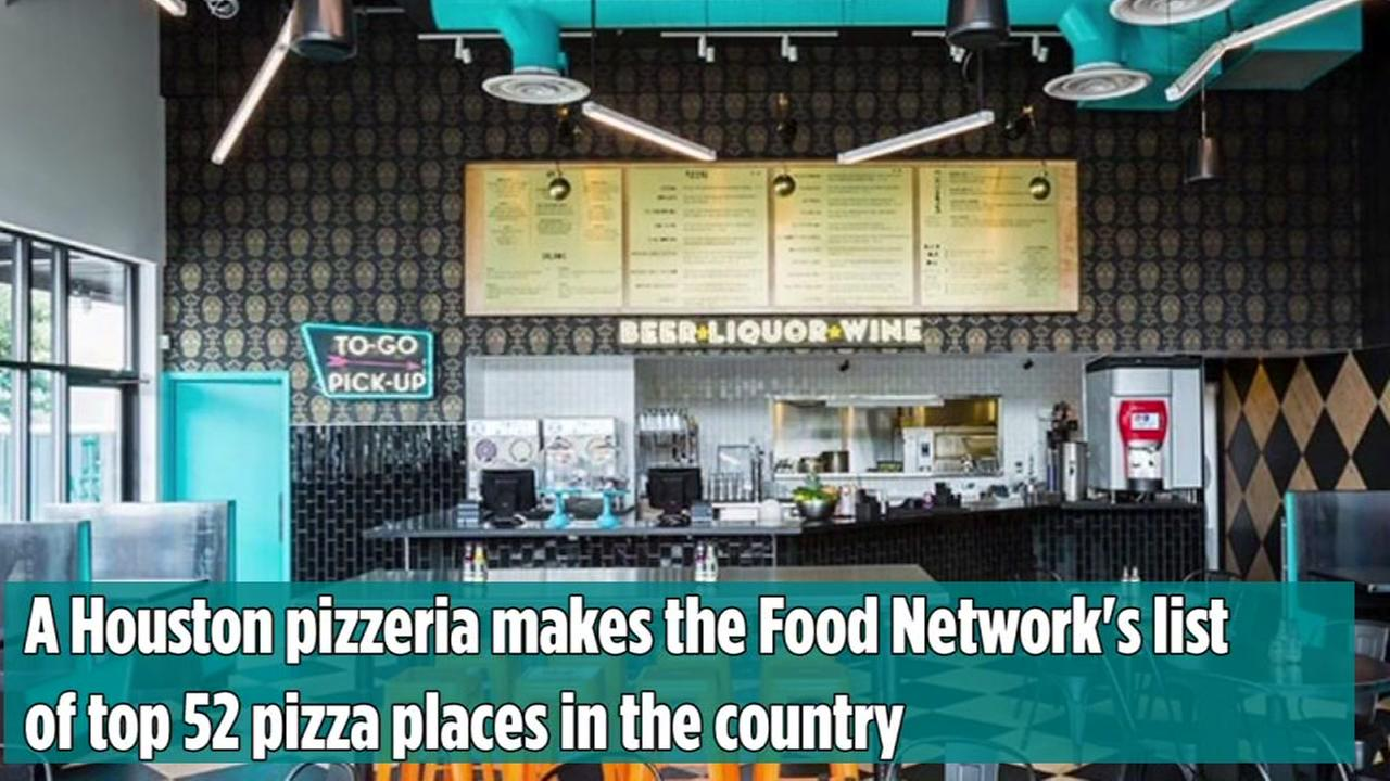 Pi PizzA in the Heights is named to the Food Networks list of top pizza places in the country