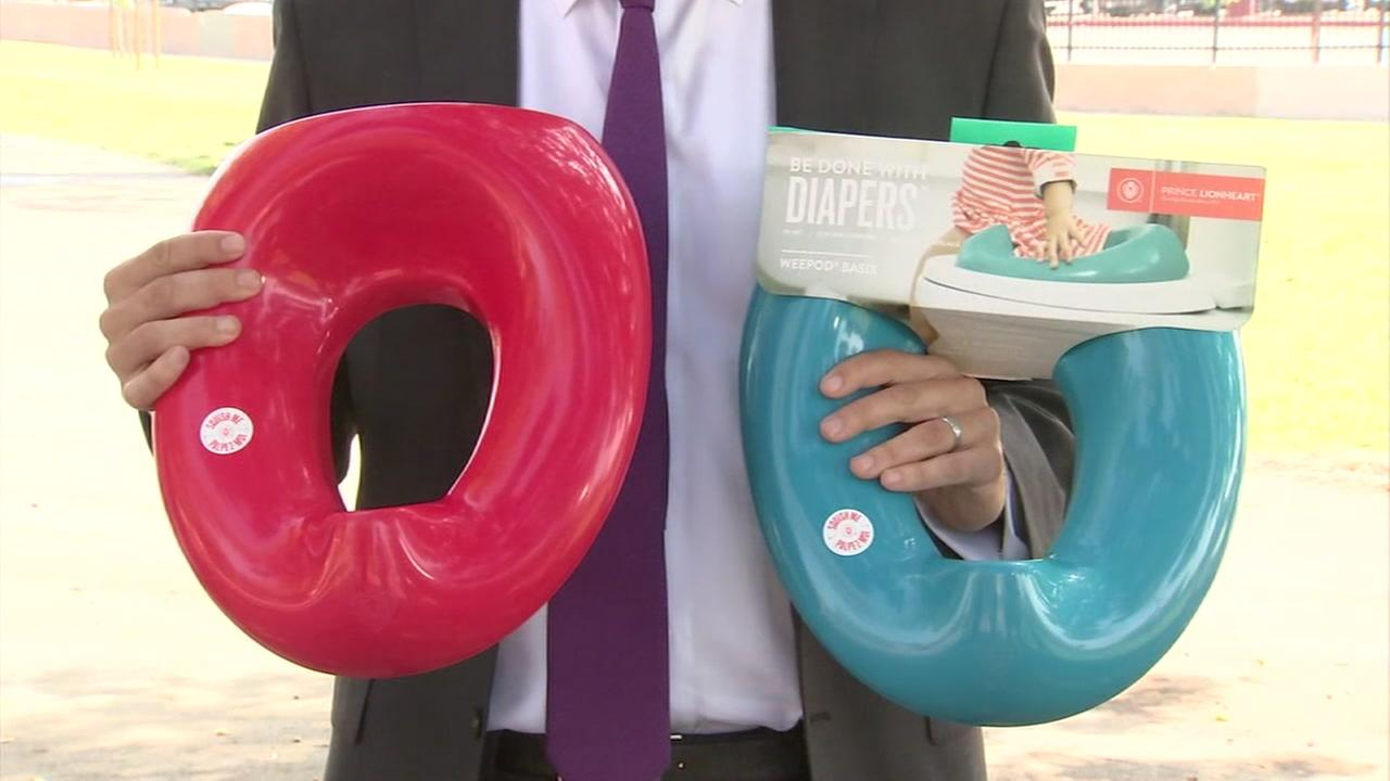 Class action lawsuit filed against company for potty training device