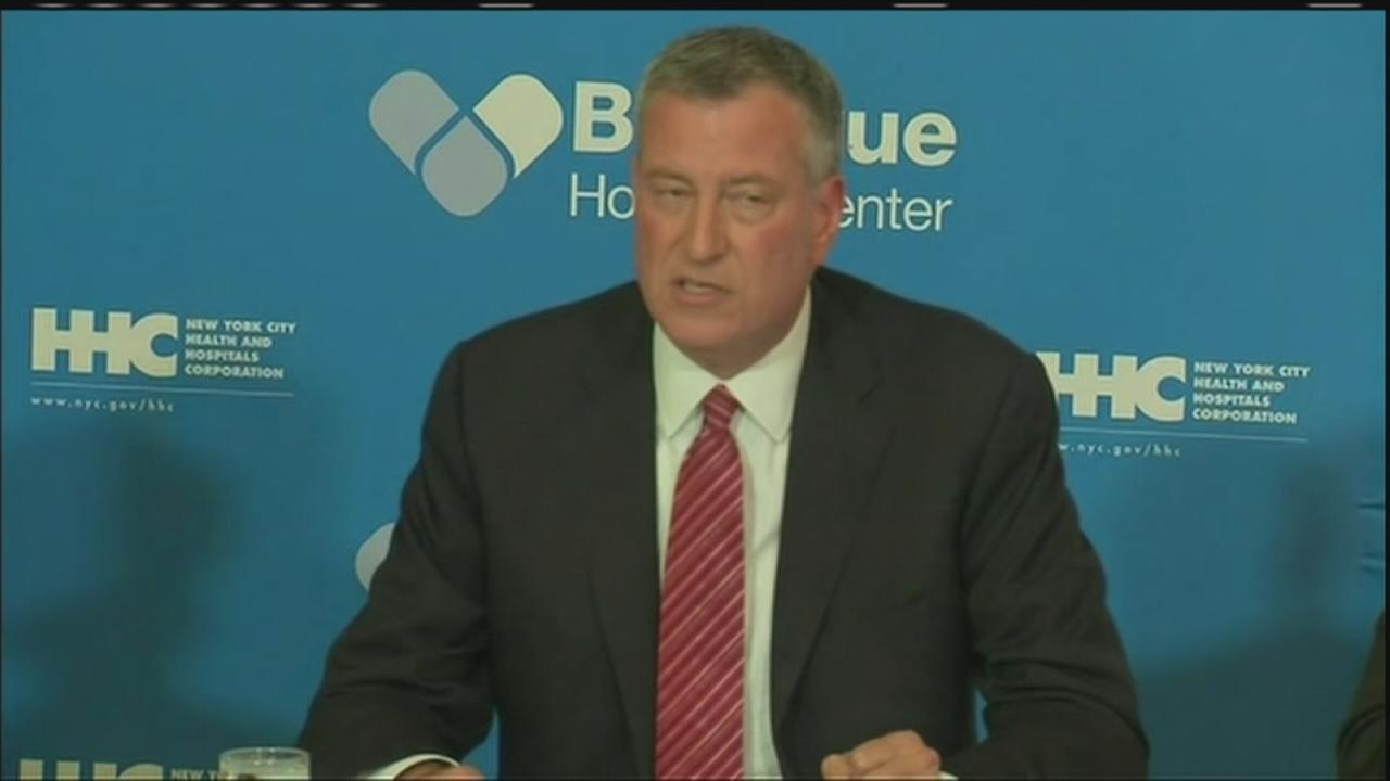 RAW: Press conference announcing latest Ebola patient