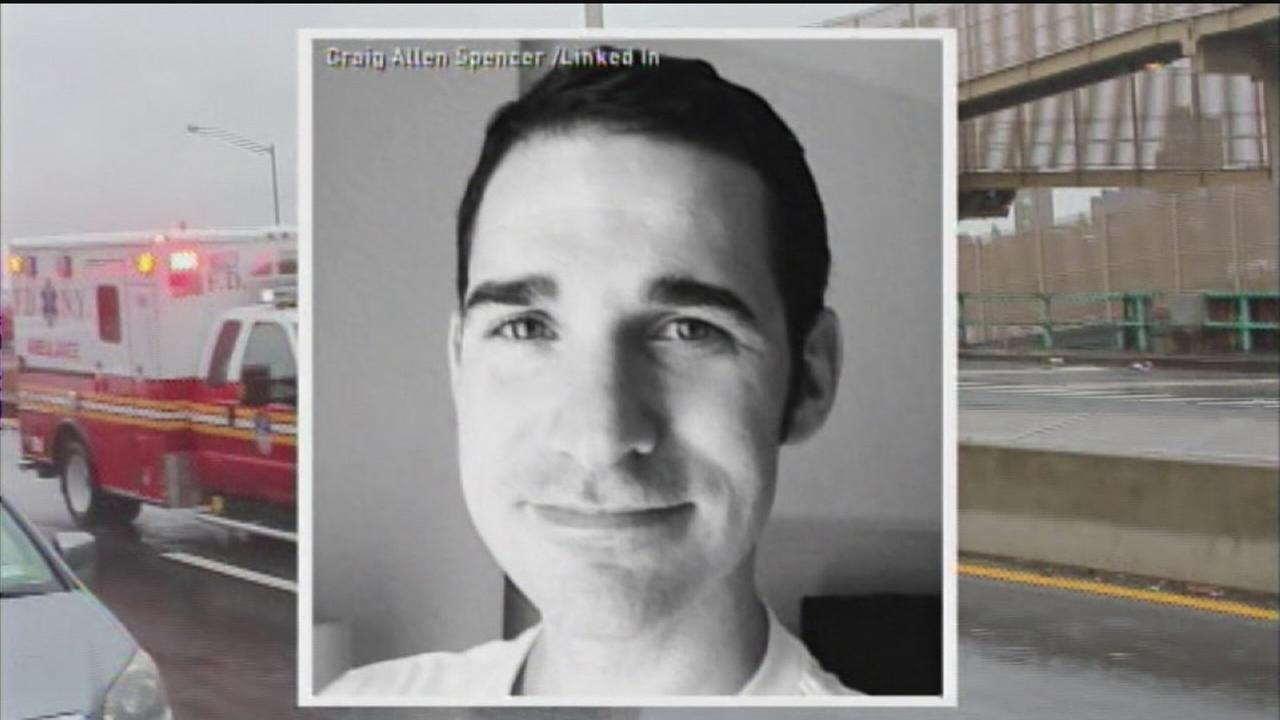 Doctor hospitalized in NY tests positive for Ebola