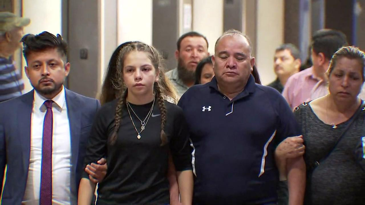 Hernandez family makes first statement after mistrial declared