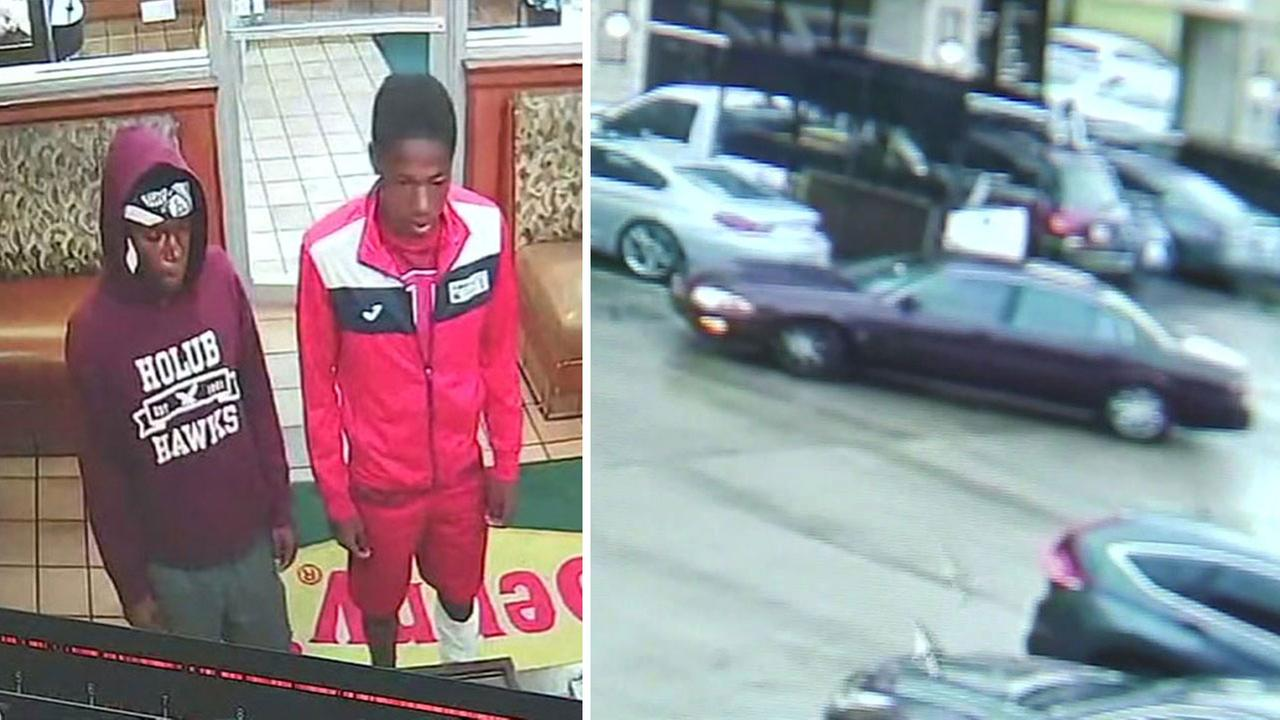 Dine and dash suspects wanted