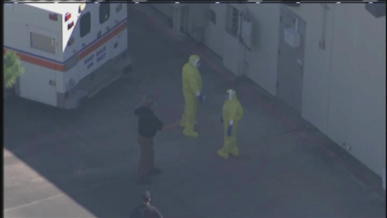League City HazMat situation