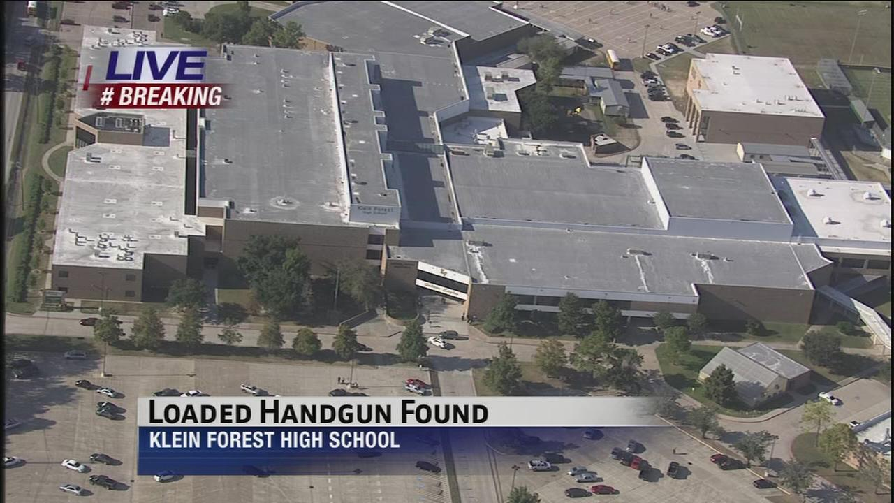 Loaded gun found at Klein Forest HS