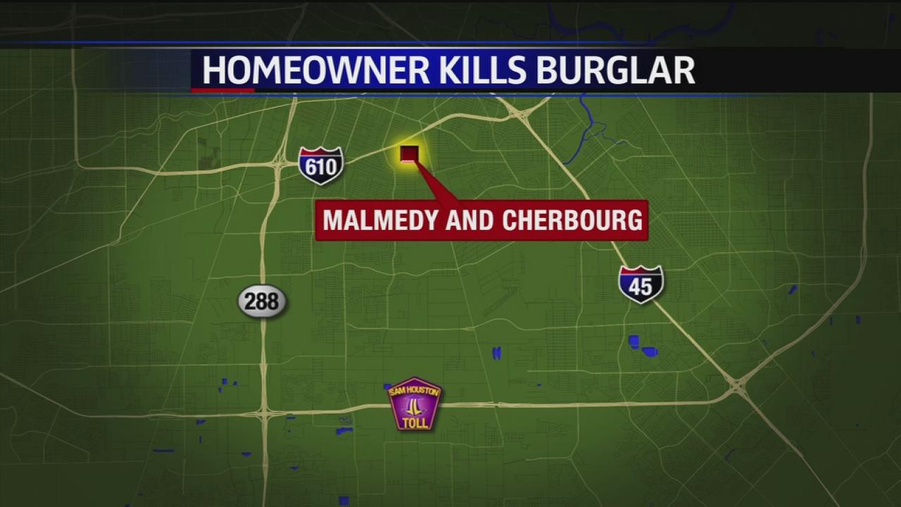 Homeowner kills suspected burglar