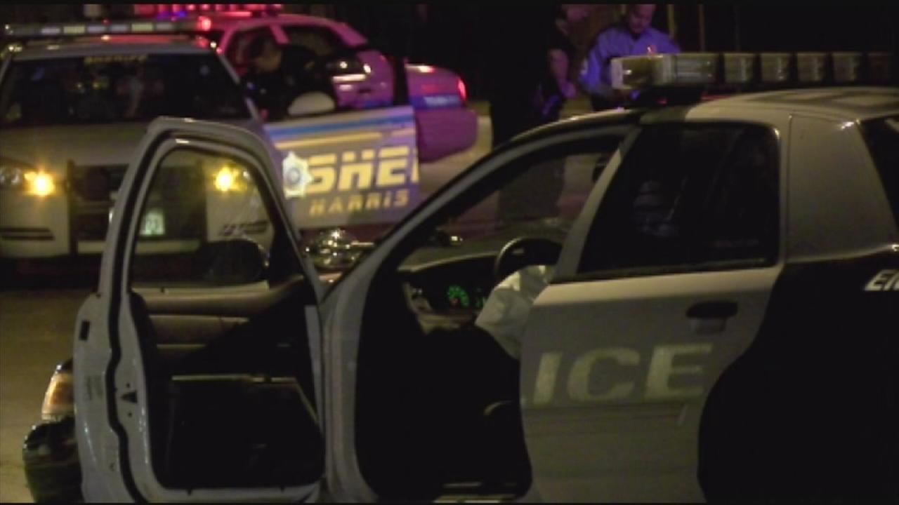 Police cruiser stolen