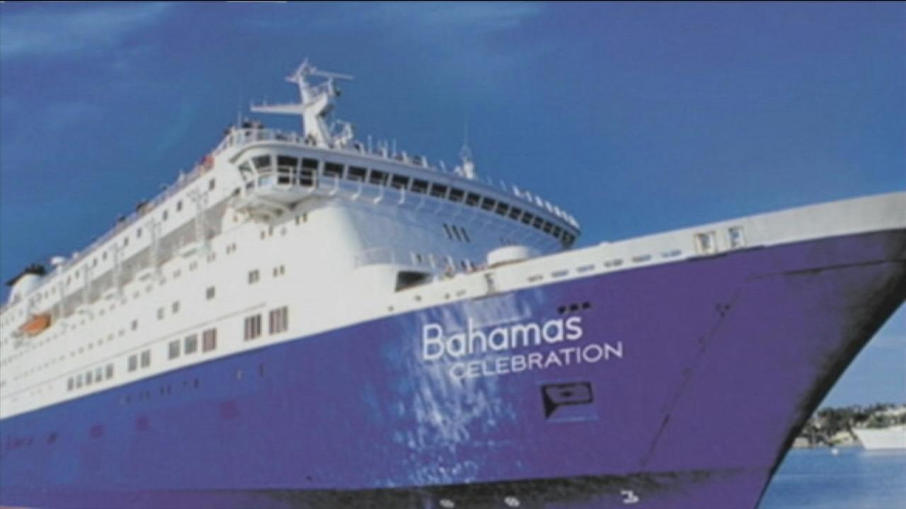 Cruise hits unknown object at sea