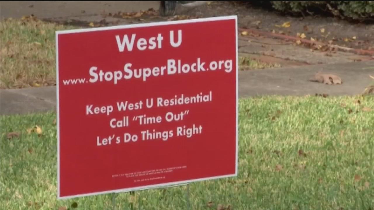 Residents worried about West U super-block plan