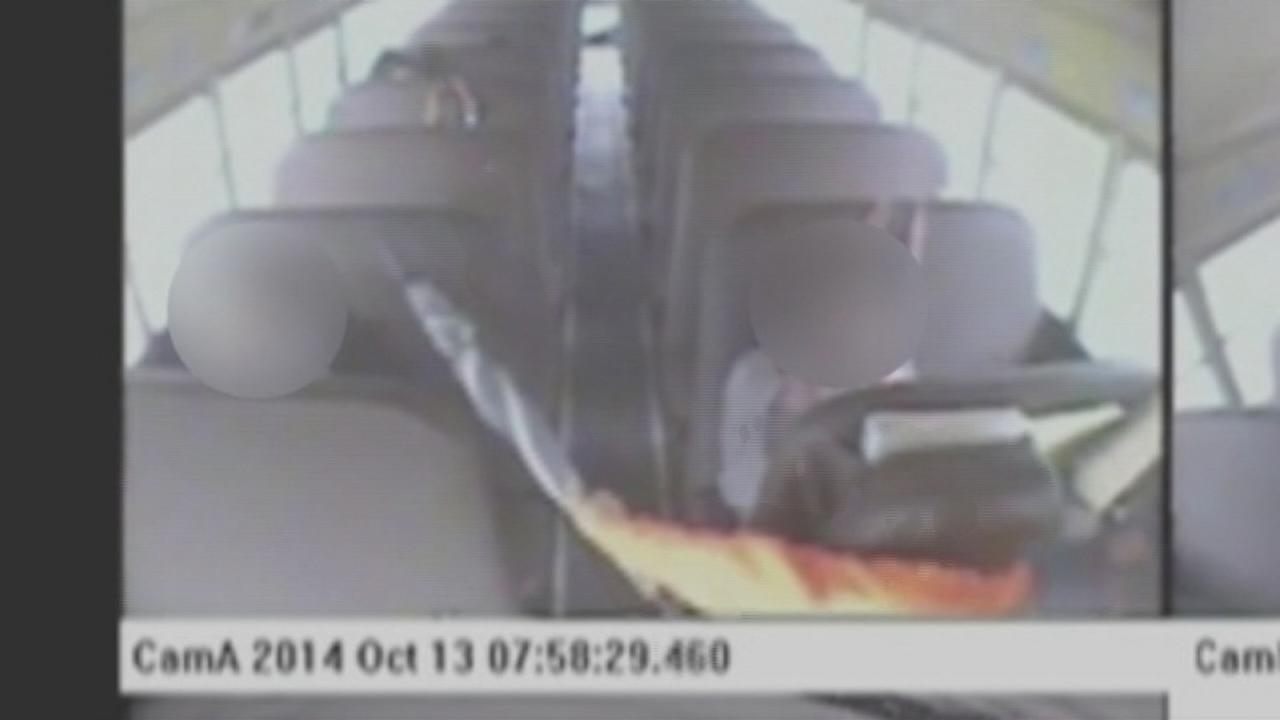 Bus driver out after video surfaces