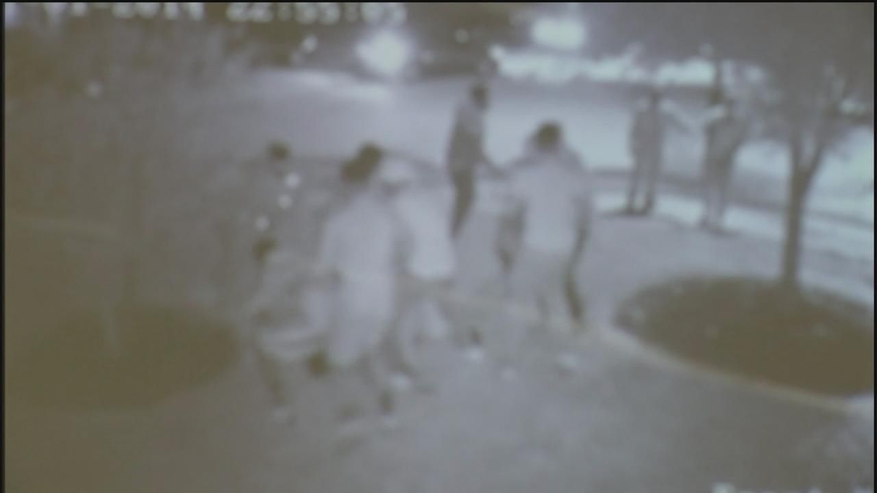 Five arrested in party beating
