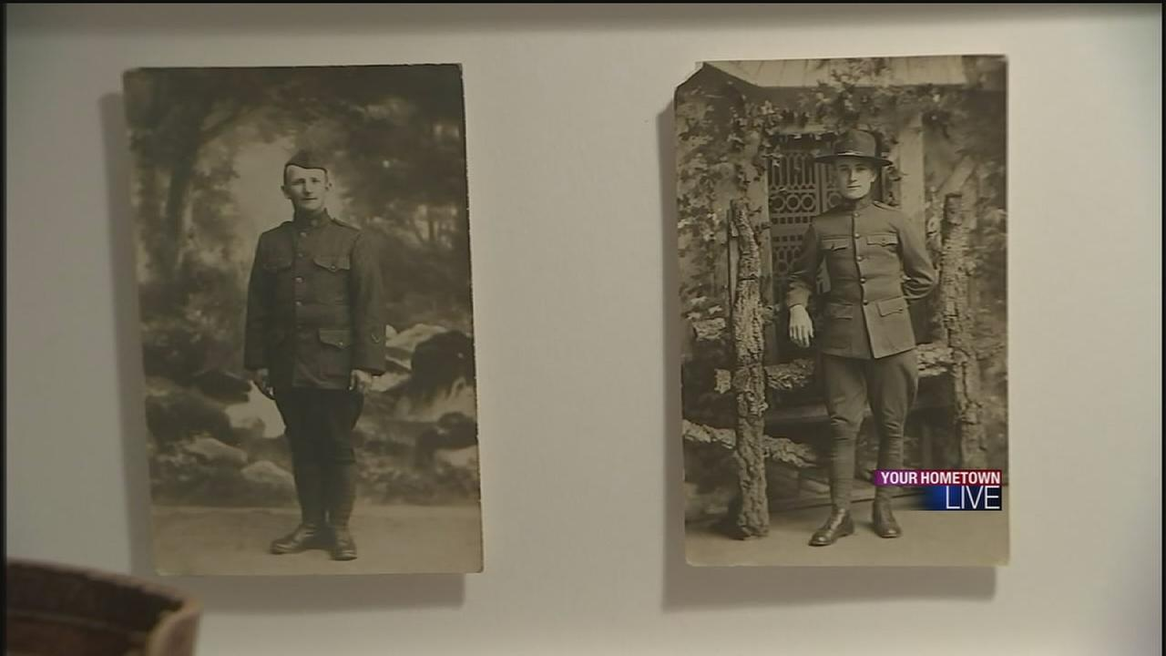 Postcard exhibit details horrors of WWI