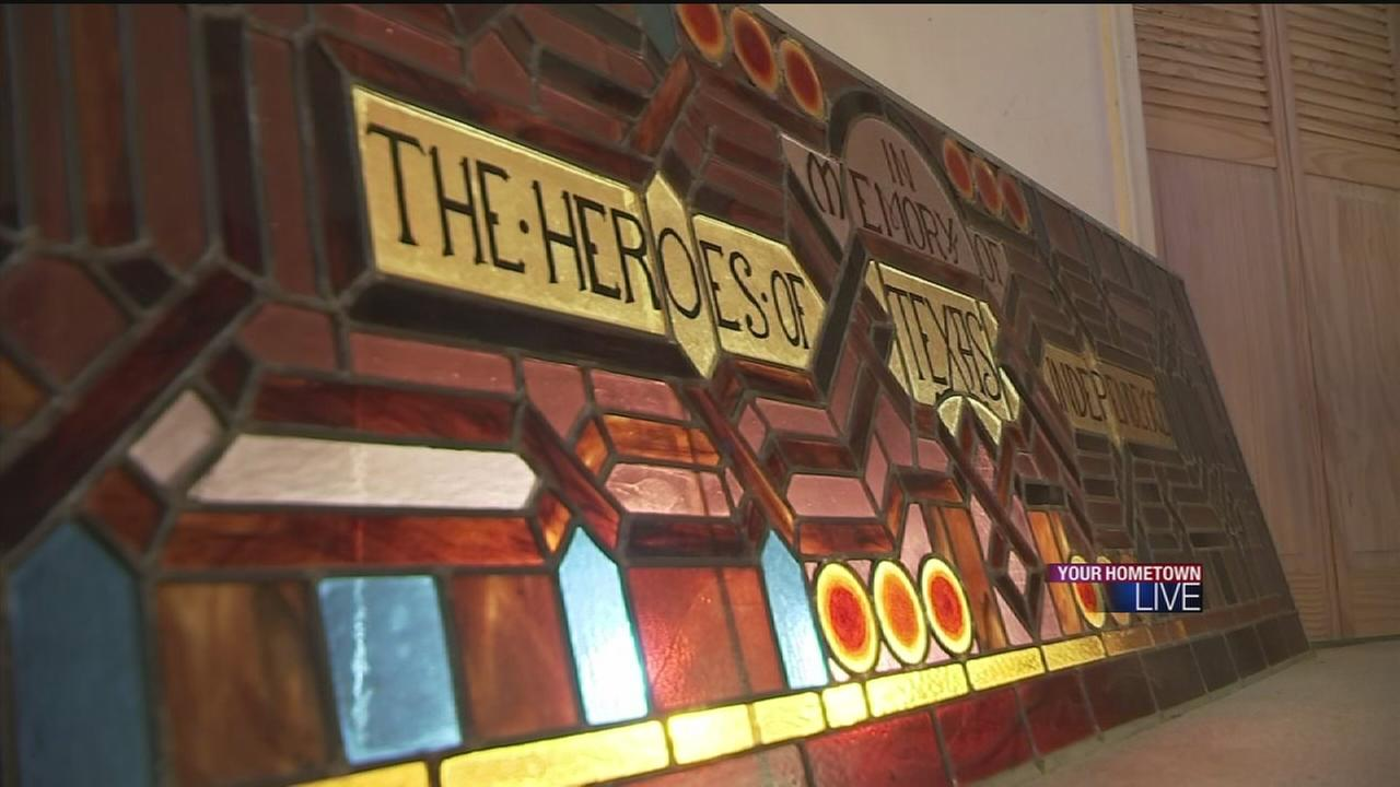 Restoration project brings stained glass back to life