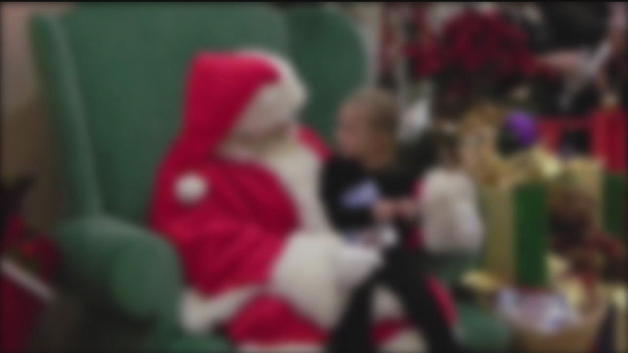 Does Santa at your mall have a dark secret?