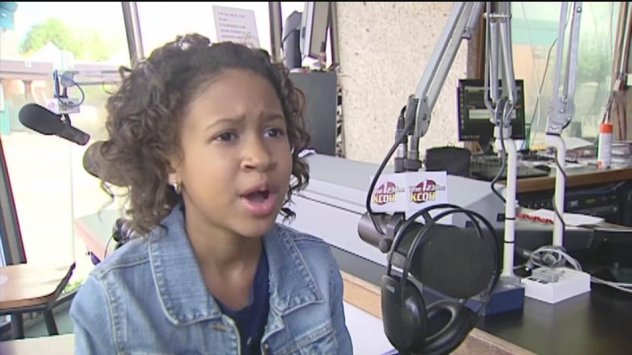 Young girls taking  Houston talk radio by storm