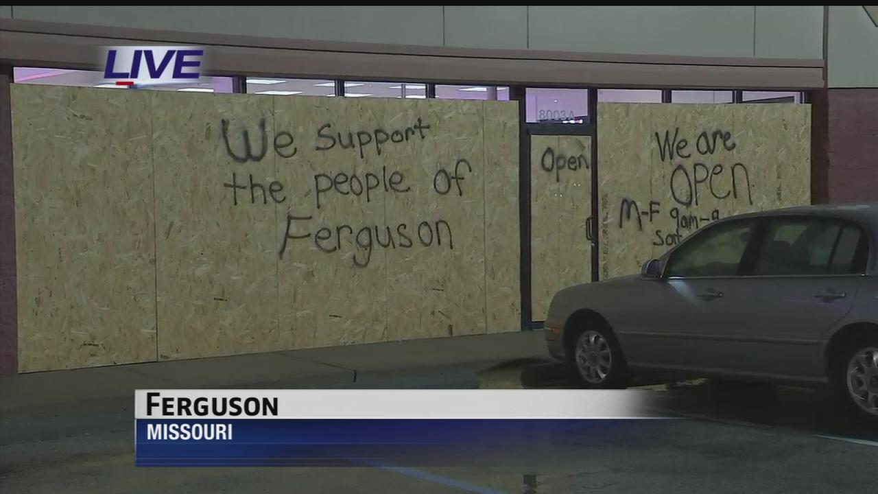 Waiting on grand jury in Ferguson case