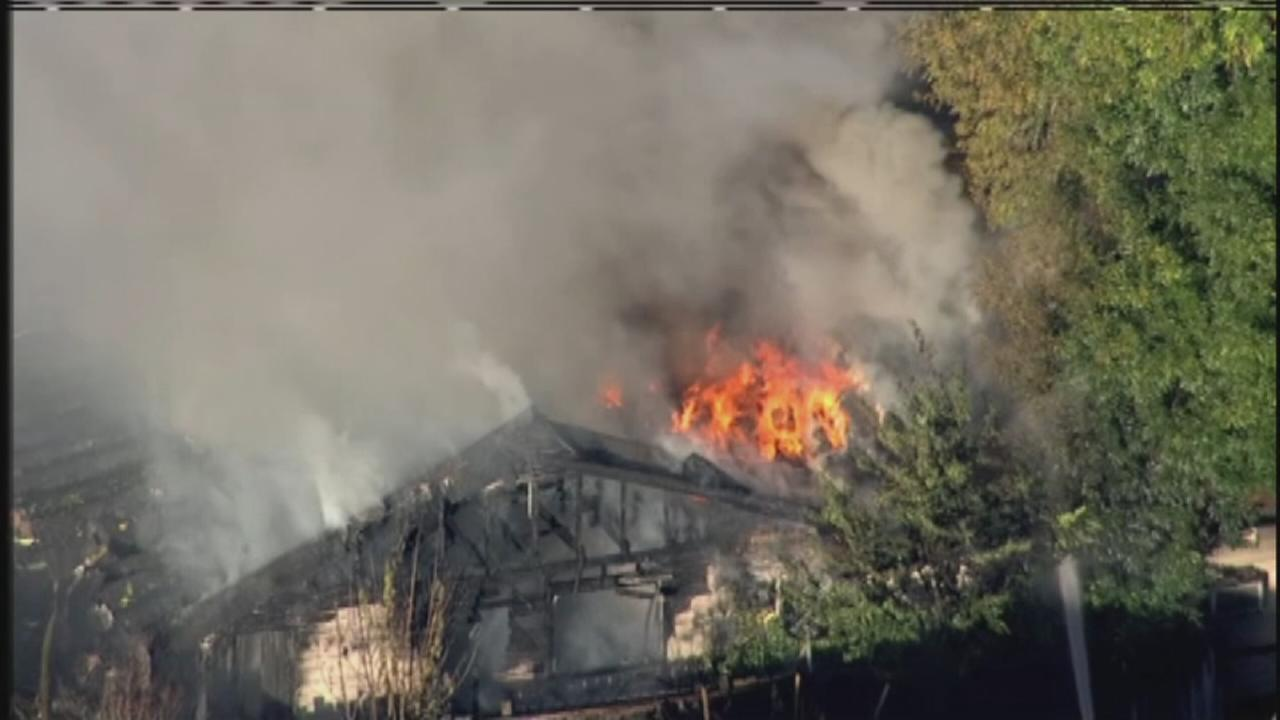 Two dead in Pasadena house fire