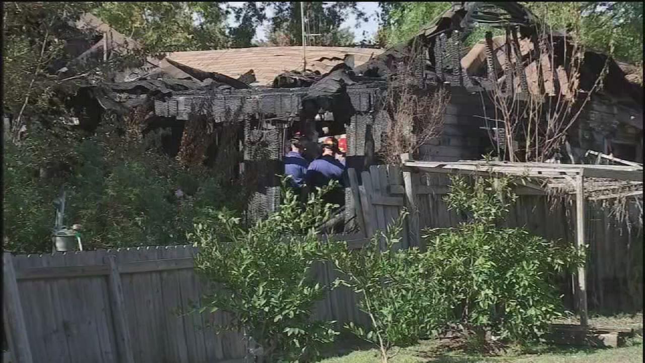 Three killed in Pasadena house fire