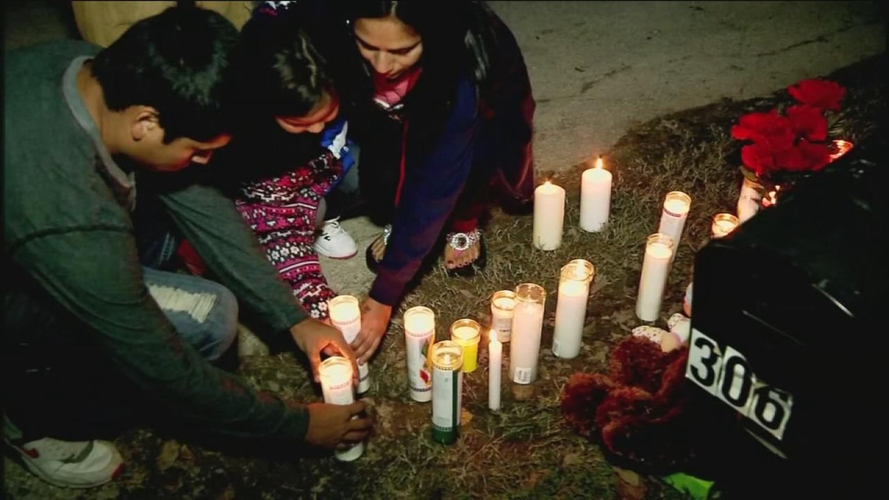 Vigil held for kids killed in house fire