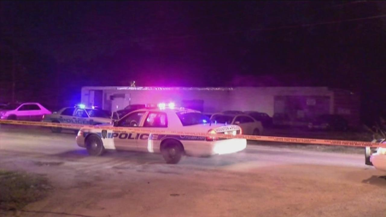 Man shot through car window near club