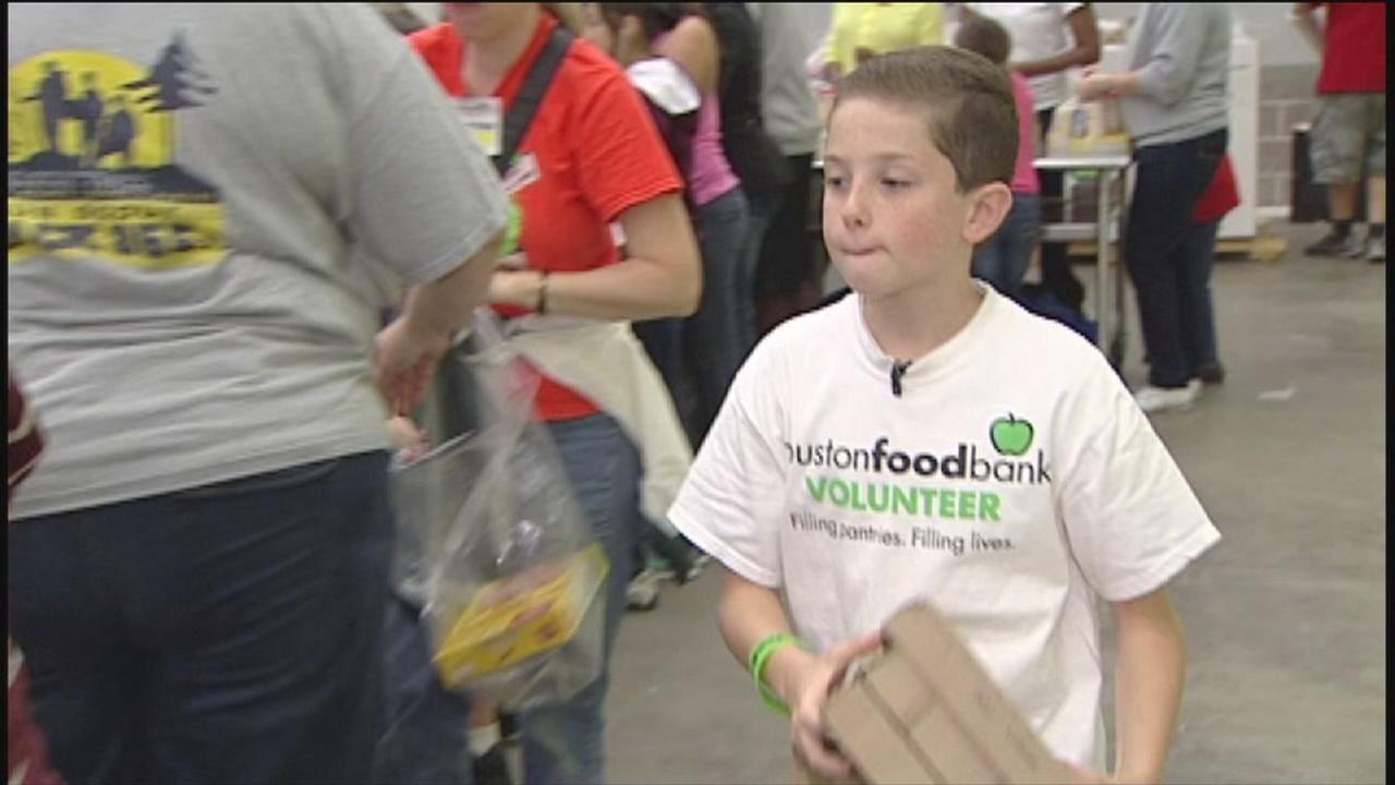 Volunteers are the lifeblood of Houston Food Bank