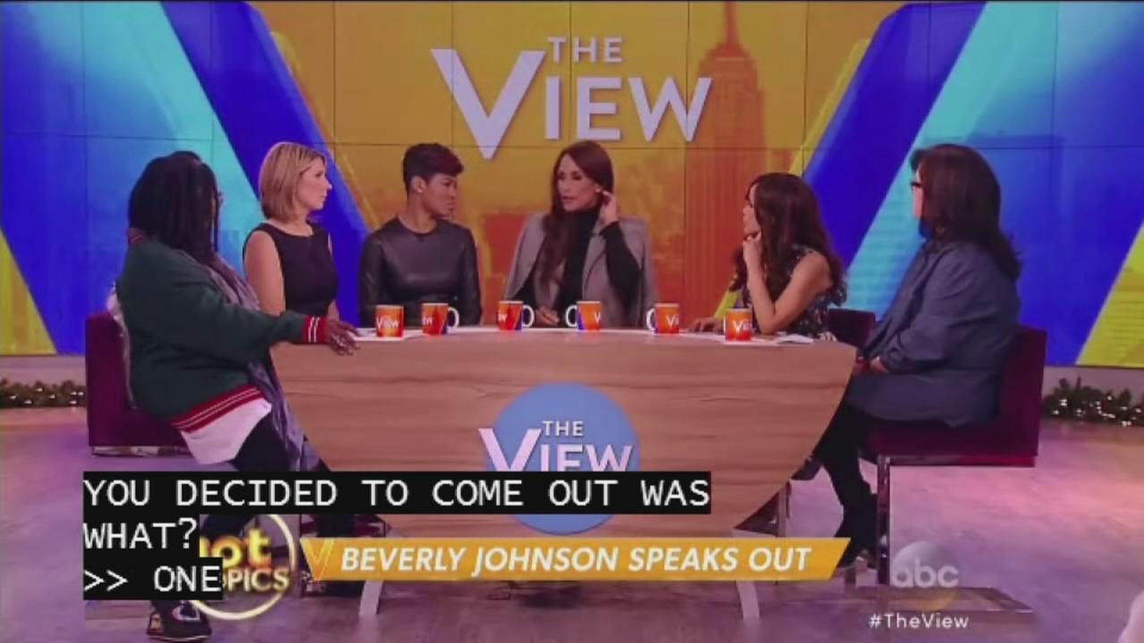 Beverly Johnson speaks out