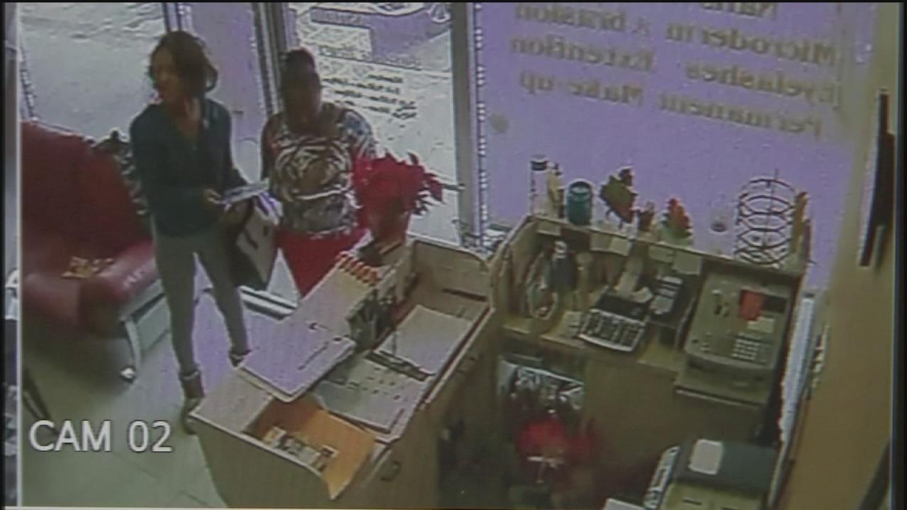 Nail salon thieves steal Christmas bonuses