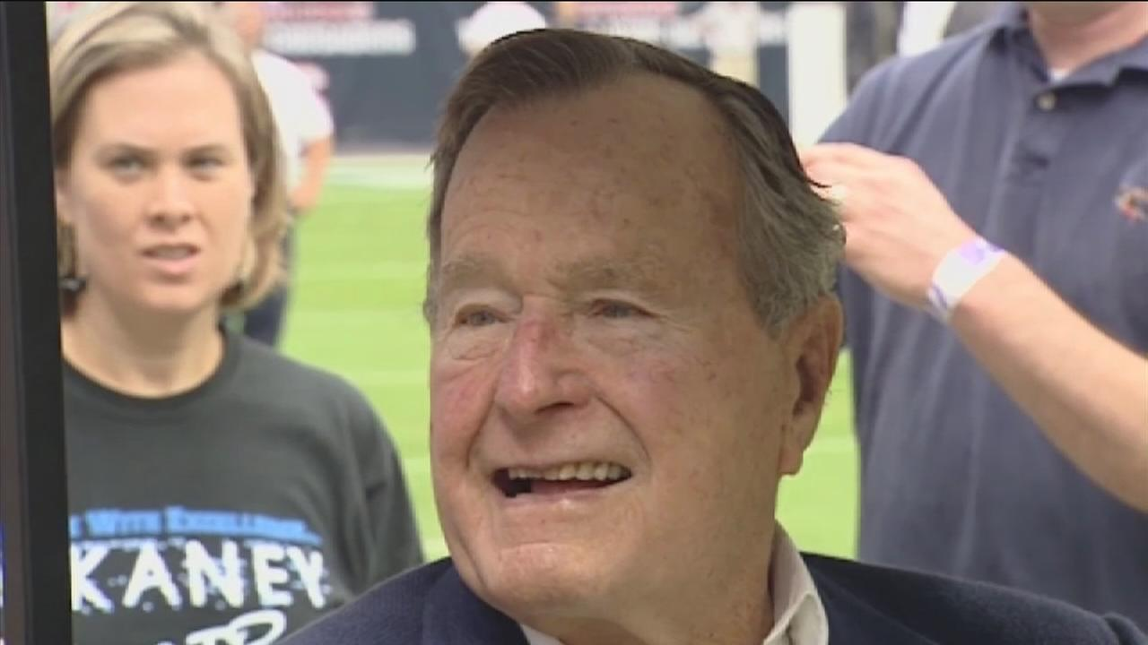 Former President Bush to stay hospitalized another day