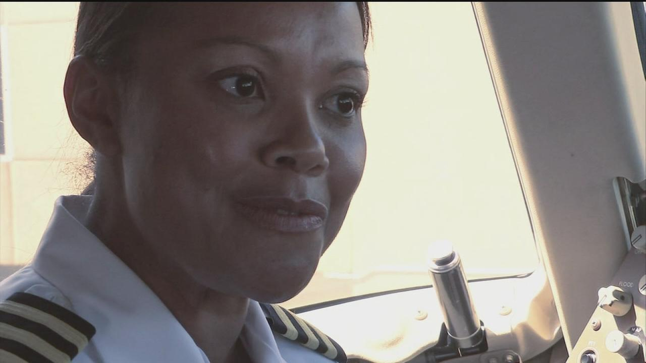 Local airline pilot breaks racial, gender barriers