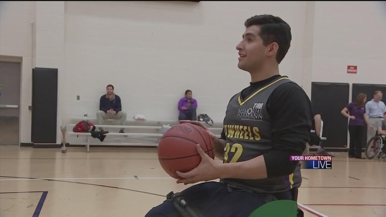 Athlete set to live out his college dream