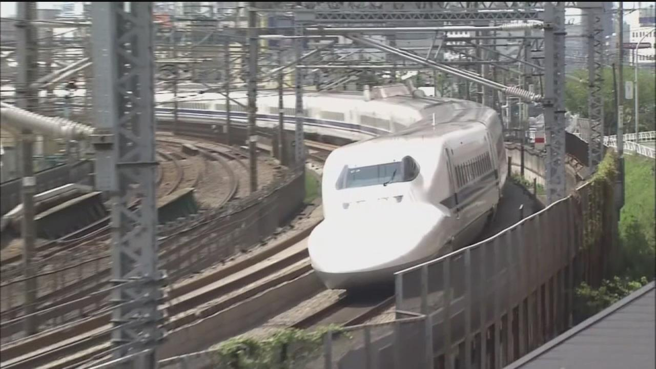 Dallas-to-Houston bullet train in the works