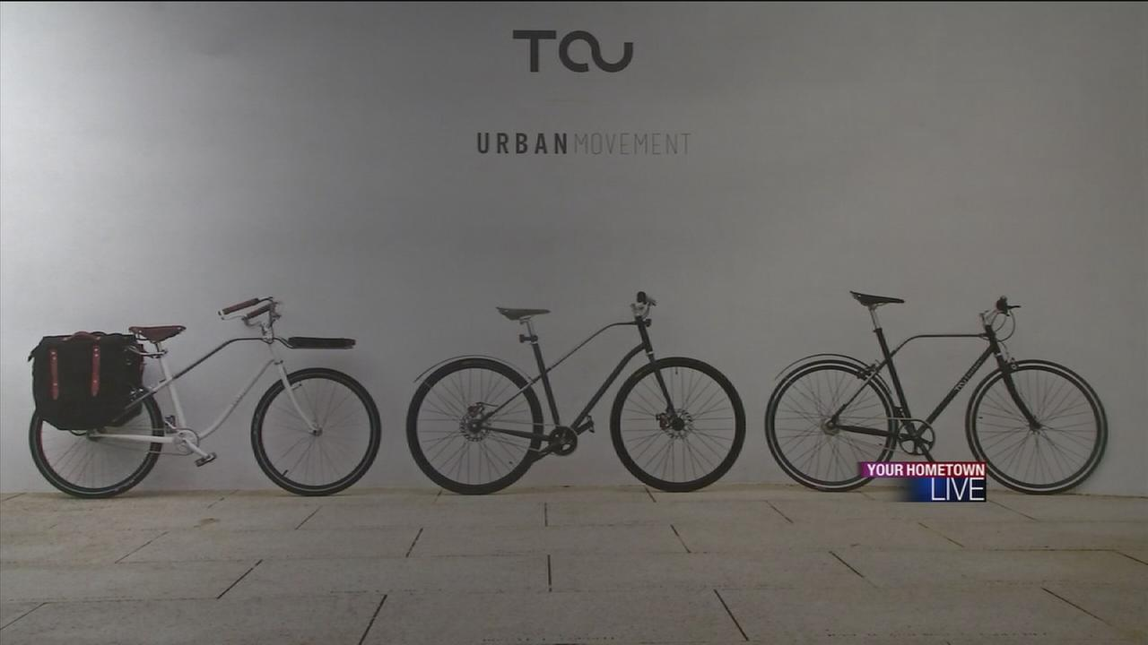 Bikes designed by UH students
