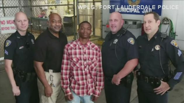 Florida teen saves police officer's life