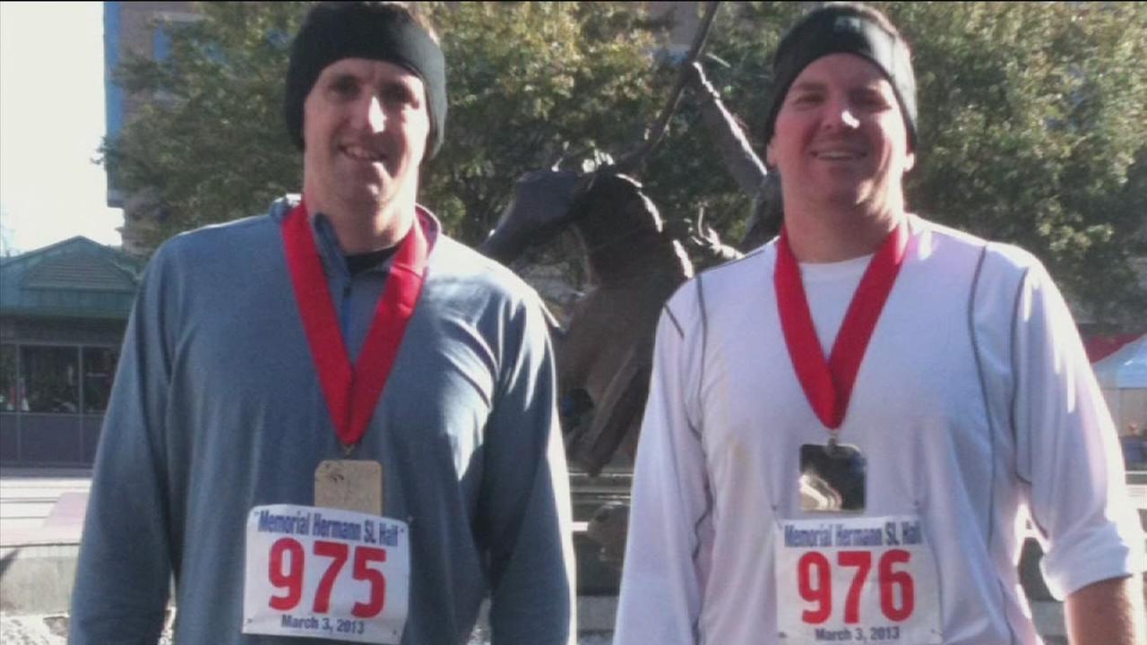 Katy man loses 80 pounds, runs marathon