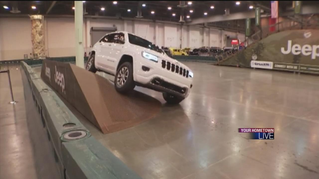 Auto Show  being held at NRG Park